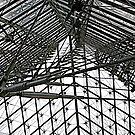 Louvre Interior (detail) by Richard Pitman