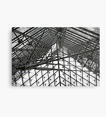 Louvre Interior (detail) Metal Print