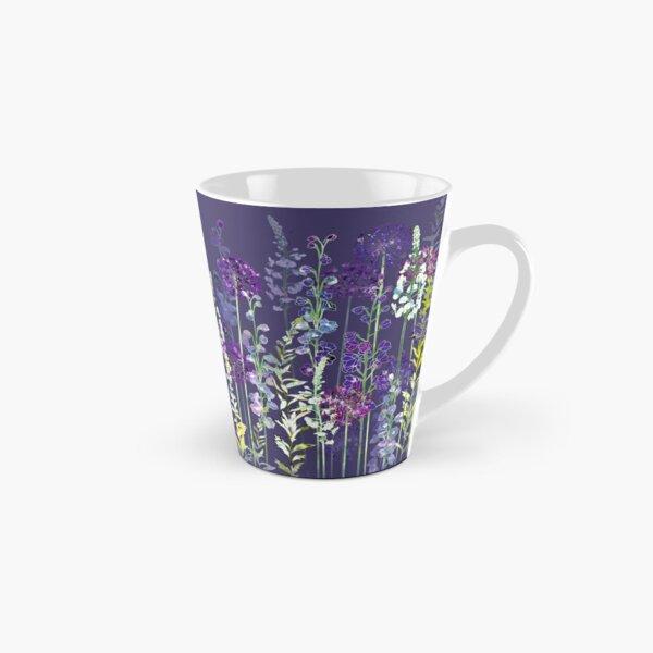 Purple Flower Meadow - Alliums, Delphiniums & Veronica Gentianoides Tall Mug
