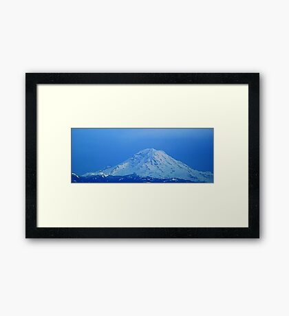 The Glorious Mt. Rainier Framed Print