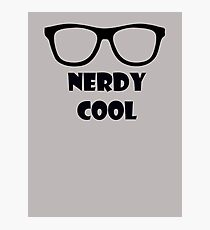 Nerdy Cool Photographic Print