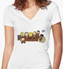 Theory Nuts Women's Fitted V-Neck T-Shirt