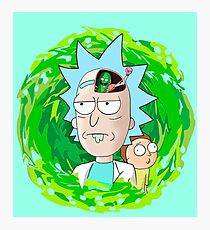Rick and Morthy  Photographic Print