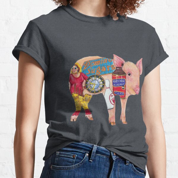 Pig - Original Art by bowlingART Classic T-Shirt