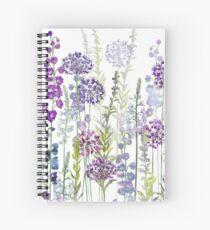 Purple Rapture Spiral Notebook