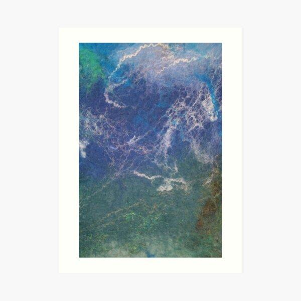 Seascape abstract Art Print