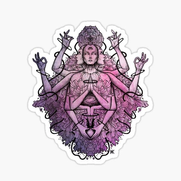 Divine Rose Sticker