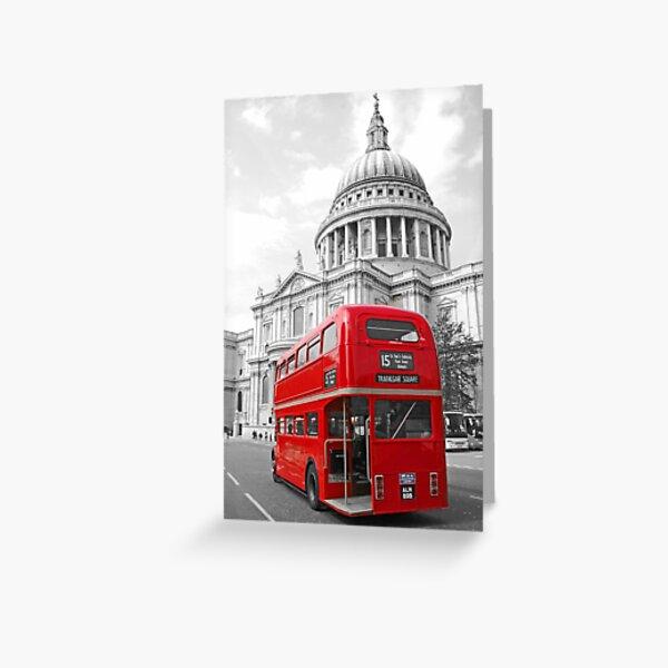 Timeless London Greeting Card