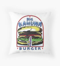 Big Kahuna Burger t-shirt (Pulp Fiction, Tarantino, Bad Motherf**ker) Throw Pillow