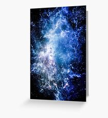 Into The Galaxy (Lost) Greeting Card
