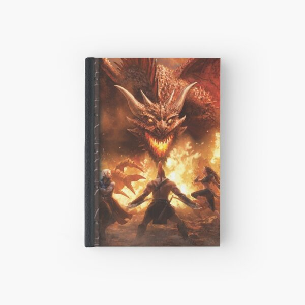 Scarred Lands Cover Art: GM Screen Dragon Hardcover Journal