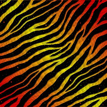Ripped SpaceTime Stripes - Red/Yellow by cmmei