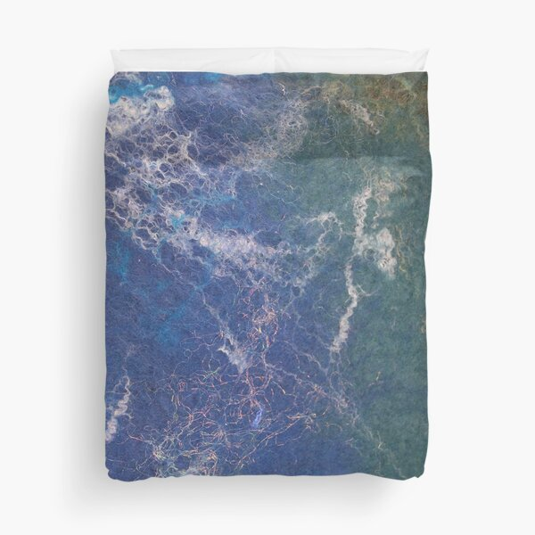 Seascape abstract Duvet Cover