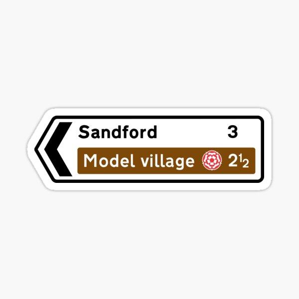 Sandford sign Sticker