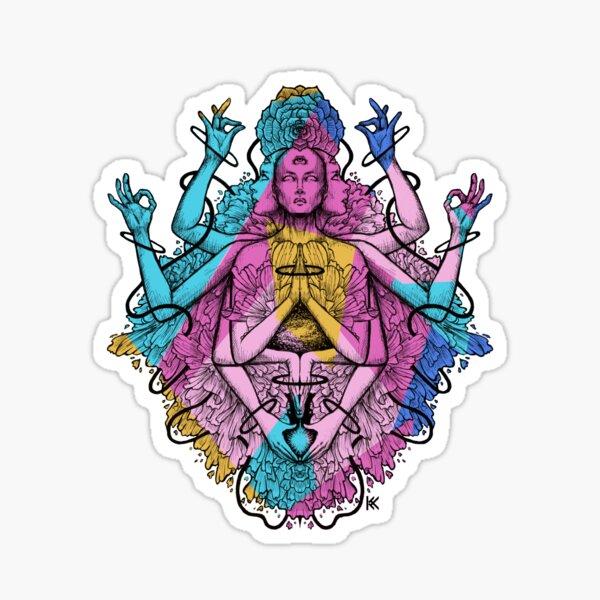 Divine Fractals Sticker