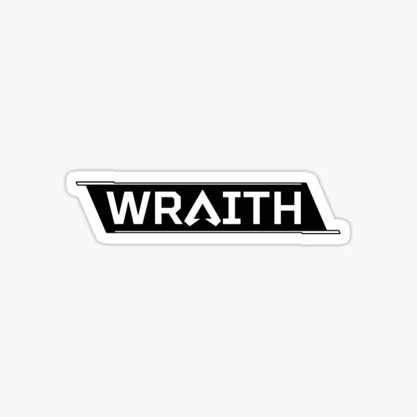 Wraith Tag   Apex Legends Character Logo Sticker