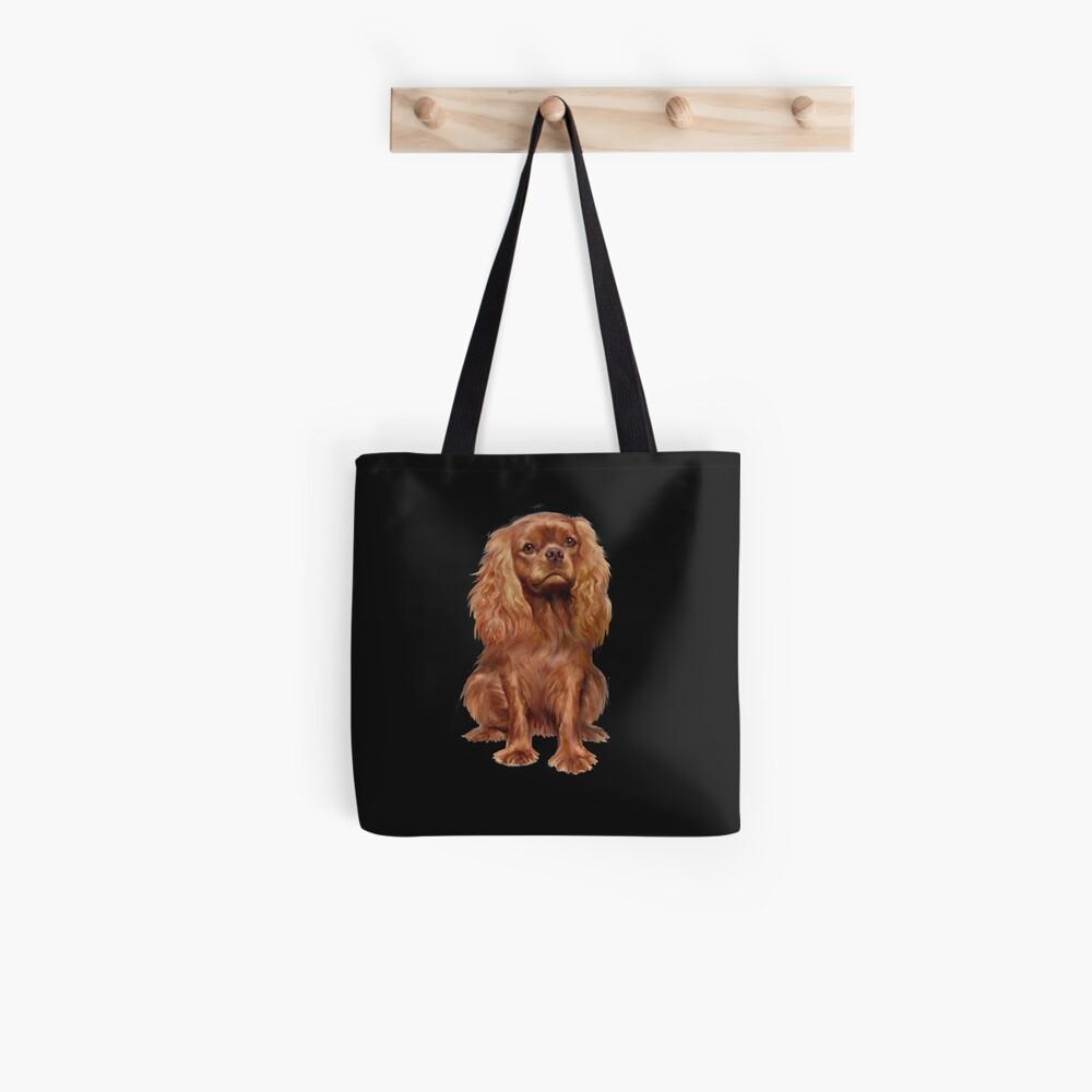 Cavalier King Charles Spaniel - Ruby  Tote Bag