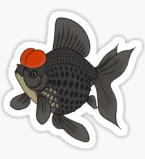 Fancy Goldfish - Crown Pearlscale Sticker
