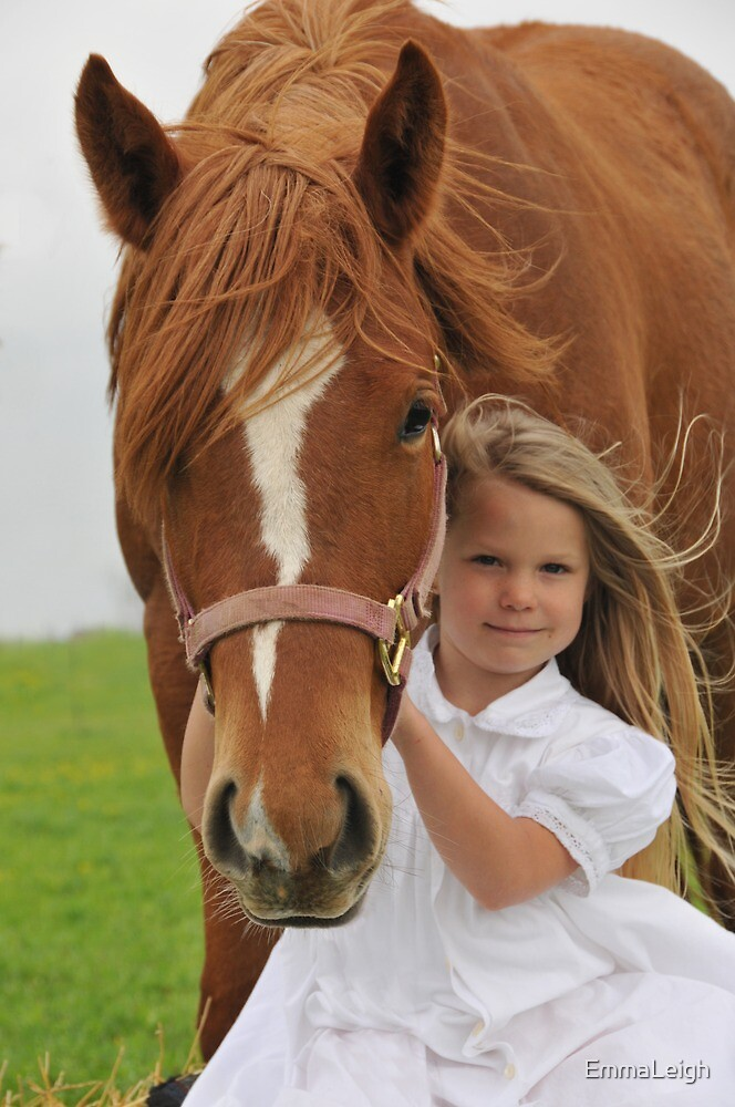 Young Horse Lover by EmmaLeigh