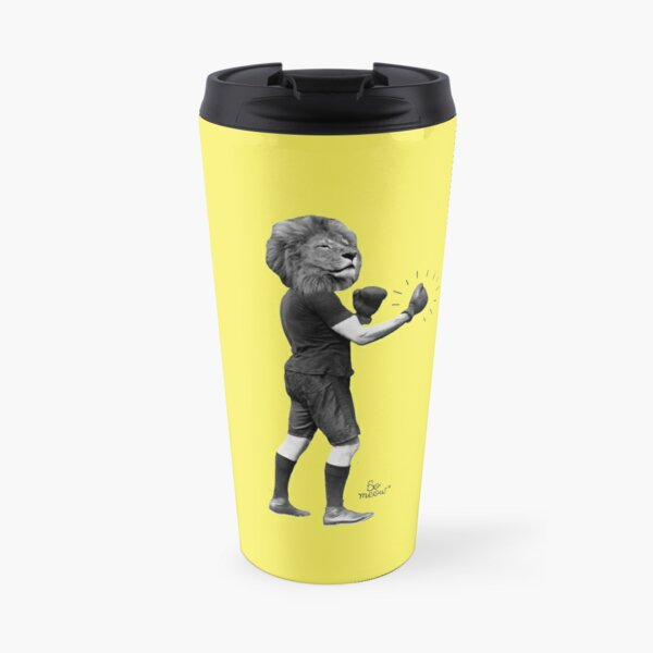 Le roi de la jungle - Lion boxer Mug isotherme