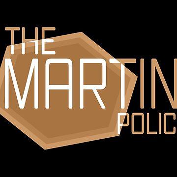 La Policía de Martini // AM de DesignedByOli