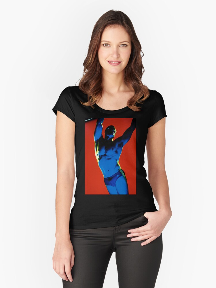 Marvel Men 05 Women's Fitted Scoop T-Shirt Front