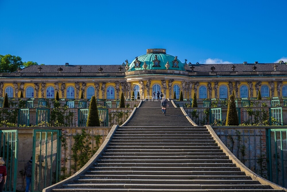 Germany. Potsdam. Sanssouci Palace. by vadim19