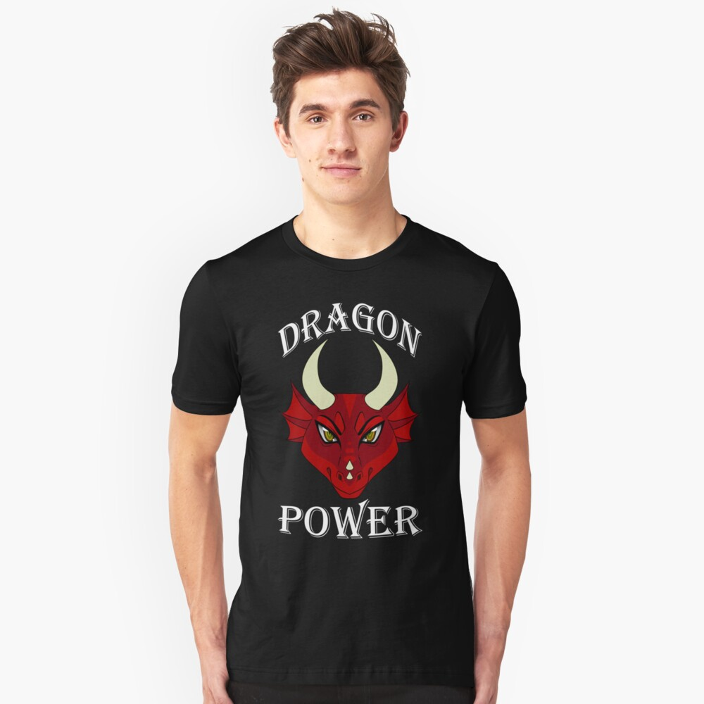 Dragon Power Unisex T-Shirt Front