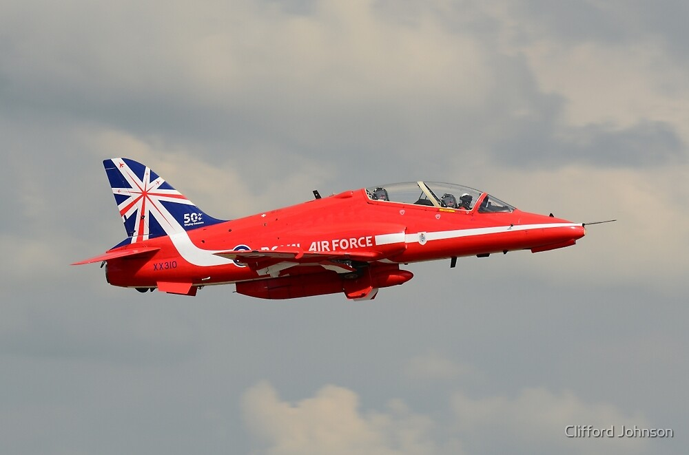 Red Arrows by Clifford Johnson