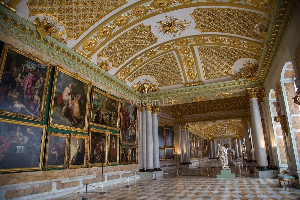 Germany. Potsdam. Sanssouci Picture Gallery. by vadim19