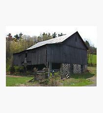 Rural Barn Photographic Print