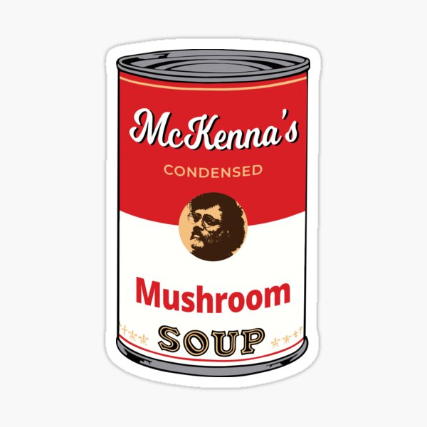 Terence Mckenna - Mushroom Soup Sticker