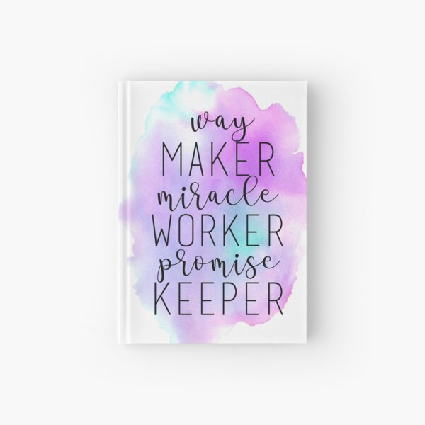 Way Maker Hardcover Journal