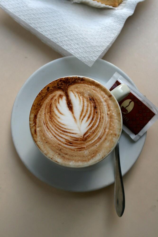 Cafe, Como Italy by Brad Starks
