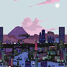 Carbon Valley Skyline by mentalpoppixels