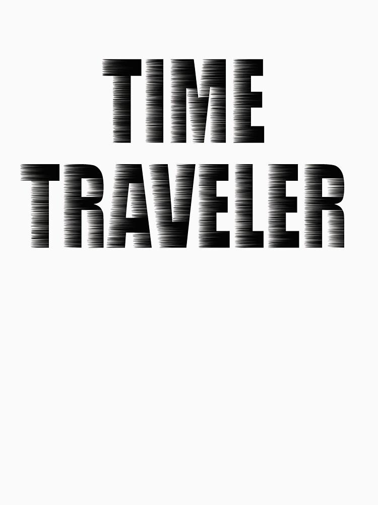 Time Traveler's T-shirt by Rightbrainwoman