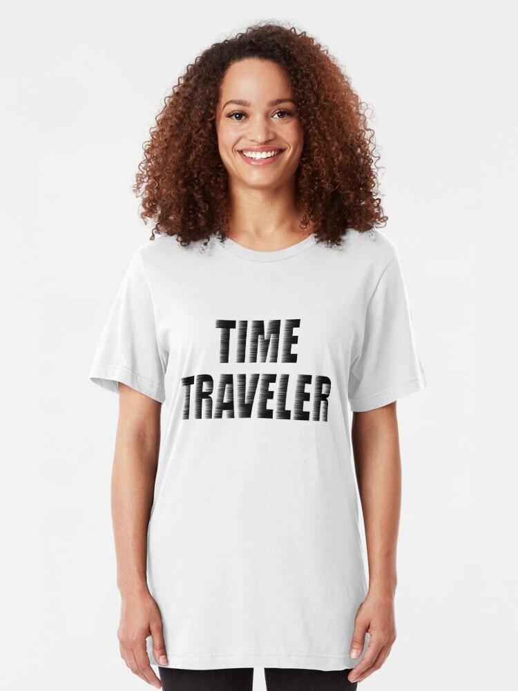 Alternate view of Time Traveler's T-shirt Slim Fit T-Shirt