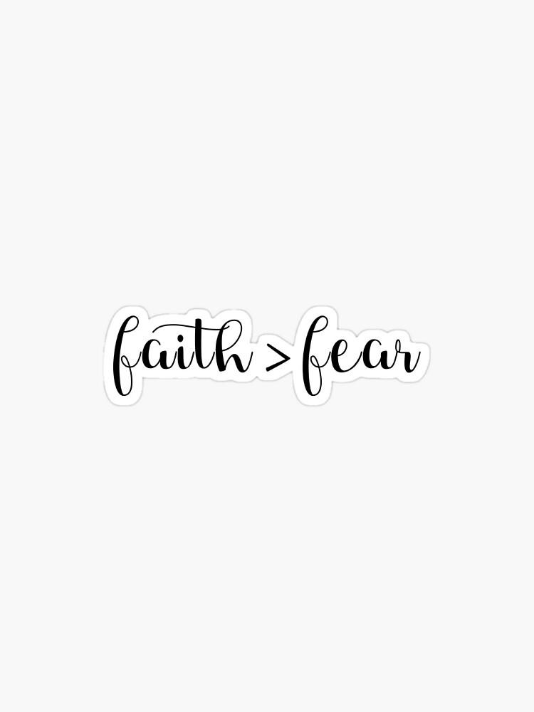 Faith > fear by swaygirls