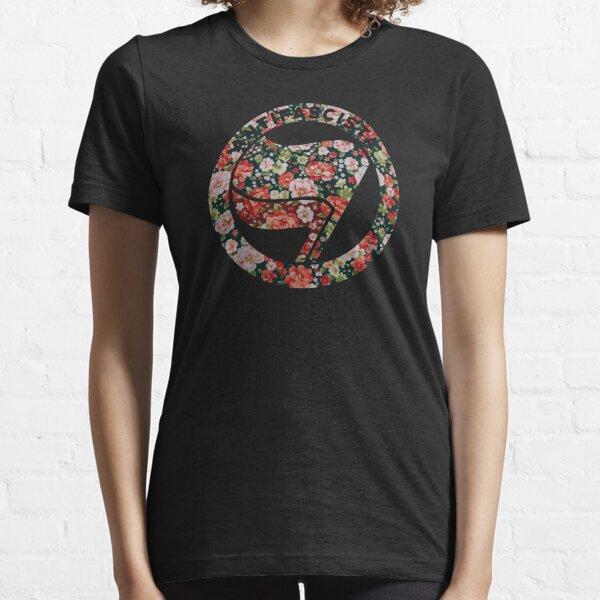 Antifa Floral Camiseta esencial