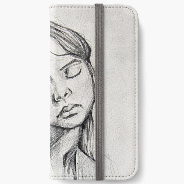 Lady iPhone Wallet