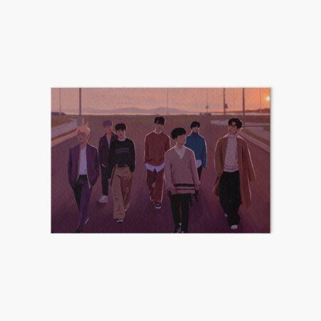 "iKON ""goodbye road"" Art Board Print"