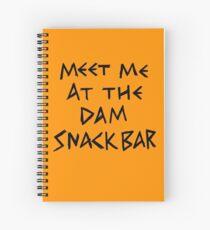 The Dam Snack Bar Spiral Notebook