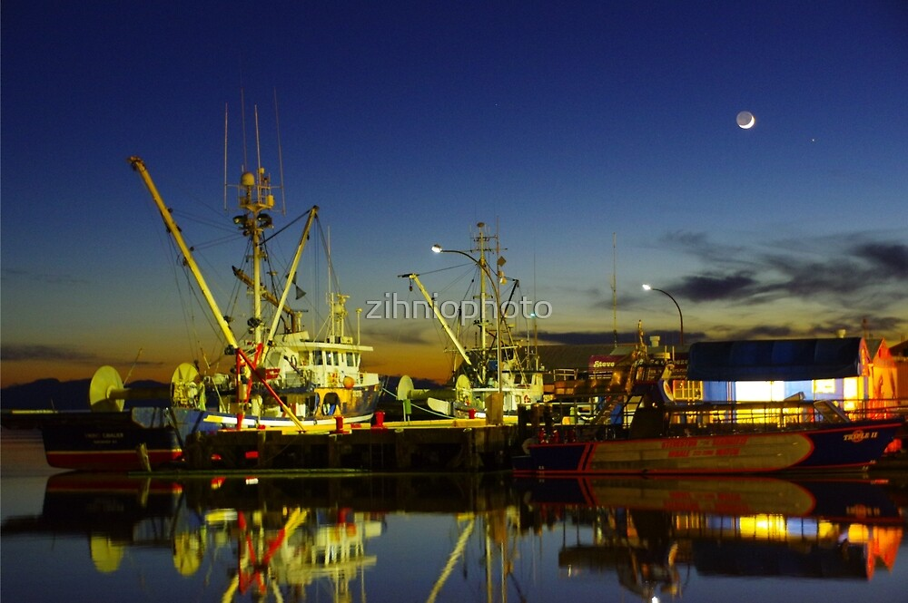 Steveston, Richmond BC by zihniophoto