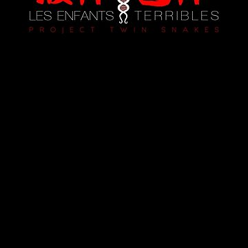 Metal Gear Solid - Les Enfants Terribles - Red Clean by garudoh