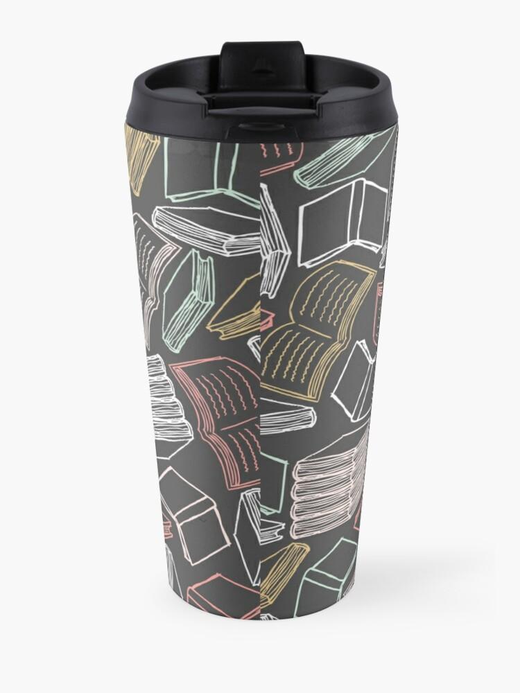 Alternate view of So Many Books...  Travel Mug