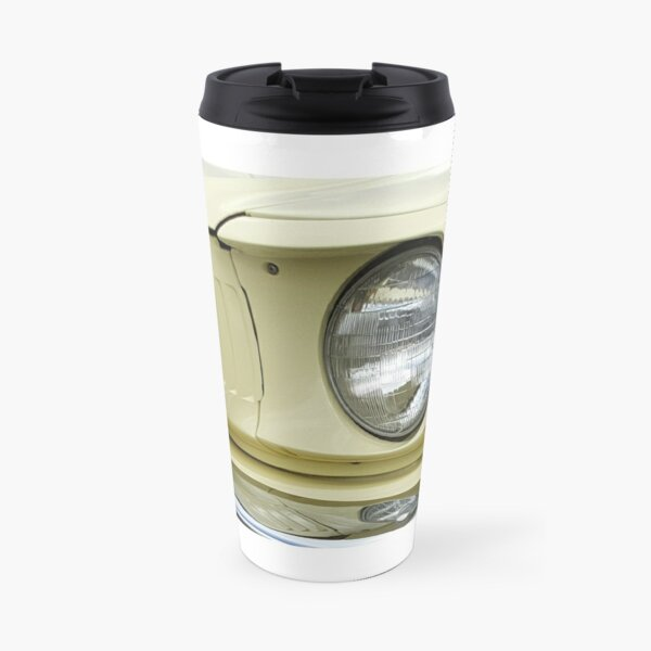 Yellow Mustang Travel Mug