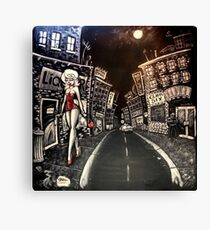 ALLEY CATS MURAL Canvas Print