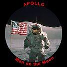 NASA Apollo Man on the Moon by Jim Plaxco