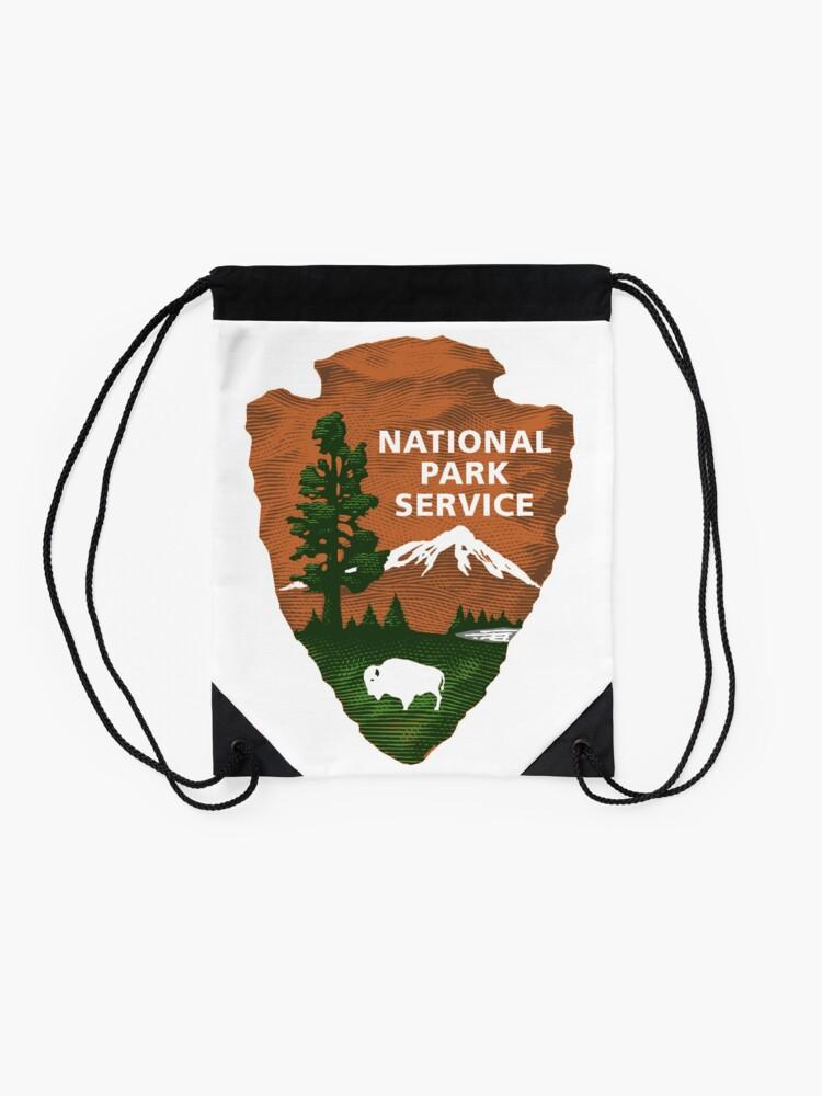 Alternative Ansicht von Nationalpark Service Turnbeutel