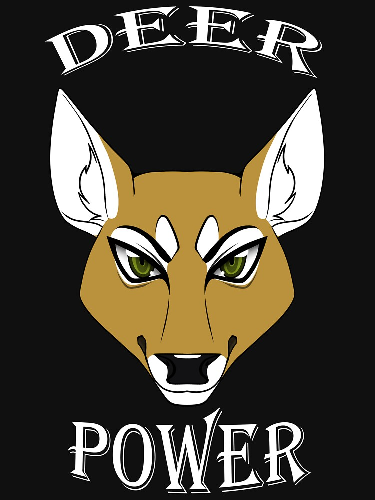 Deer Power (Doe) by TheHuntingWolf